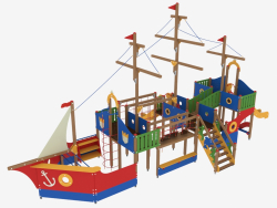 Children's game complex Frigate (5119)