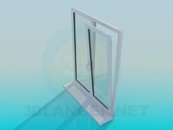 Fenêtre en métal-plastique