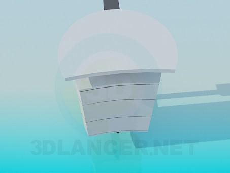 3d модель Пристеночная тумба – превью