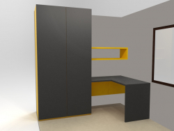 Wardrobe + table