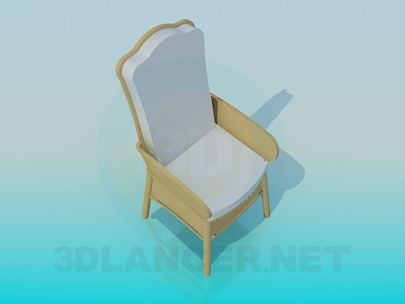 3d model Chair a soft seat - preview