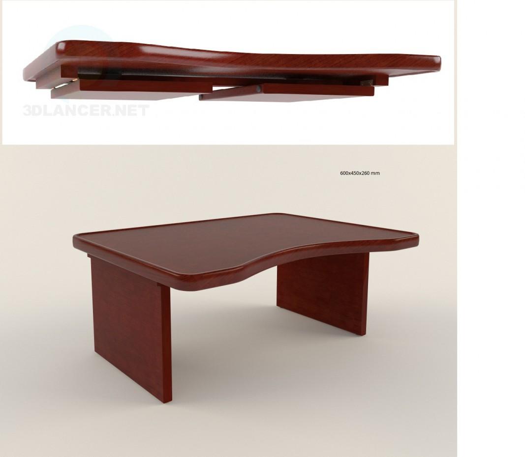 3d модель Столик для ноутбука – превью