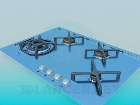 modelo 3D Superficie - escuchar