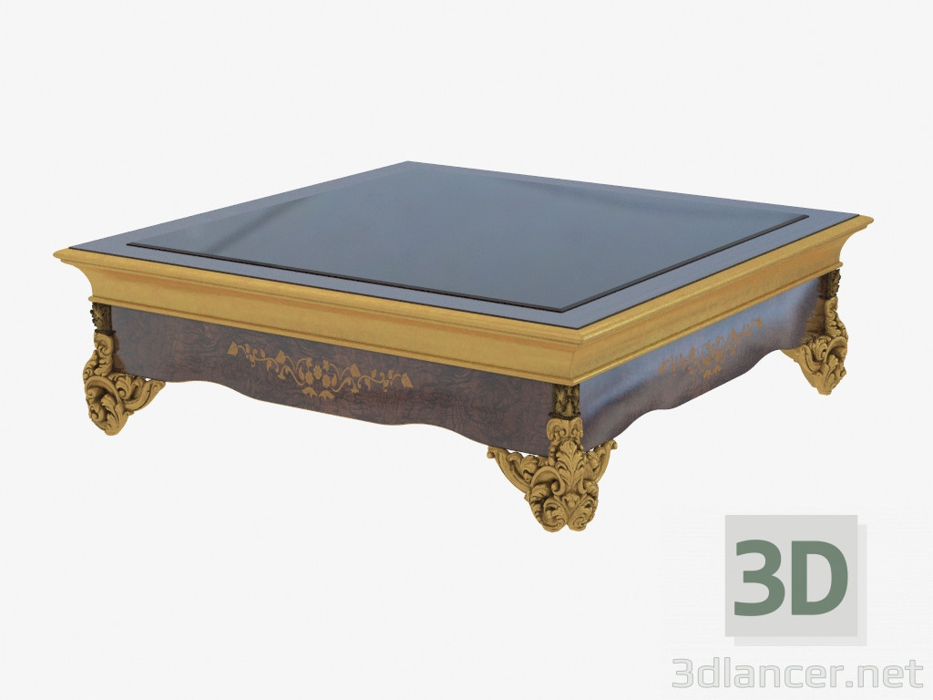 3d model Journal table in classical style 1528 - preview
