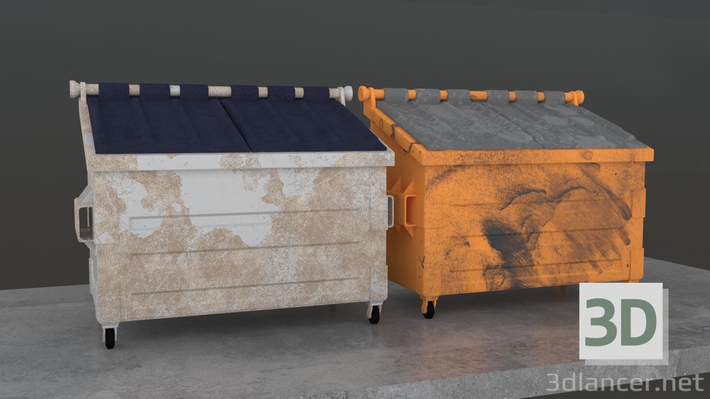 3D modeli Çöp - önizleme