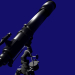 3d model Telescope with tripod - preview