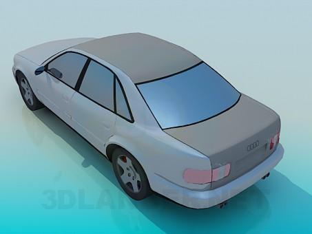 3d model Audi - preview