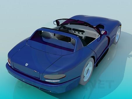 3d model Dodge Viper - preview