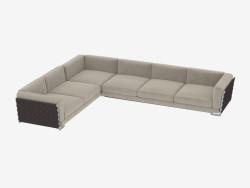 Modular sofá de canto fianco