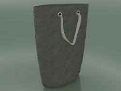 Bolsa de couro ecológico genuíno