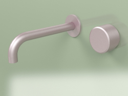 Wall-mounted mixer with spout (16 10 T, OR)