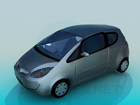 3d model Mitsubishi Colt - preview