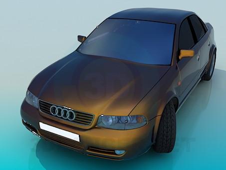 descarga gratuita de 3D modelado modelo Audi A4