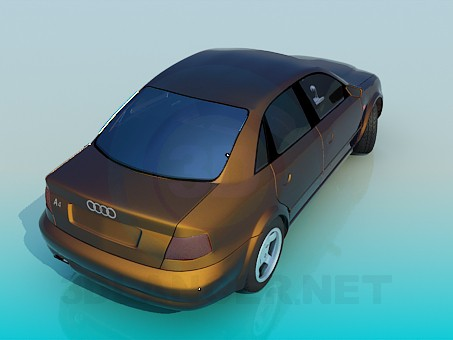 modelo 3D Audi A4 - escuchar