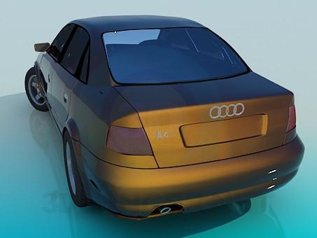 3d model Audi A4 - preview