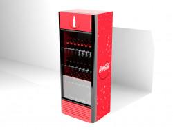 İçecekler ile otomatik Coca-cola