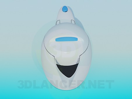3d model Electric Kettle - preview
