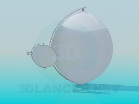 Modelo 3d Espelhos de parede - preview