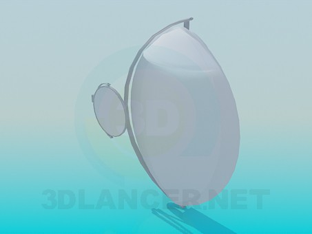 3d model Wall mirrors - preview