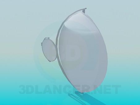 3d модель Дзеркала настінні – превью