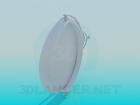 modelo 3D Espejos de pared - escuchar