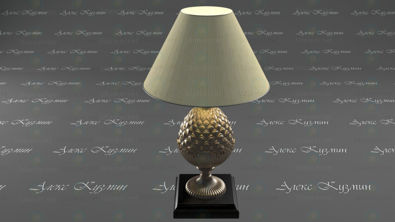 table lamp paid 3d model by Кузнецов Александр Леонидович preview