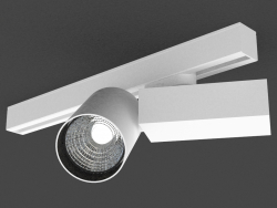 Светодиодный светильник для трехфазной шины (DL18624_01 Track W Dim)