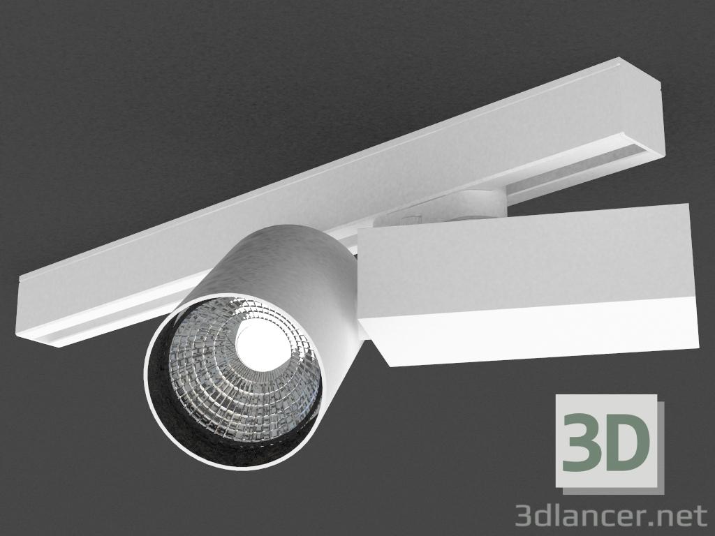 3 डी मॉडल तीन चरण बस के लिए एलईडी दीपक (DL18624_01 ट्रैक डब्ल्यू मंद) - पूर्वावलोकन