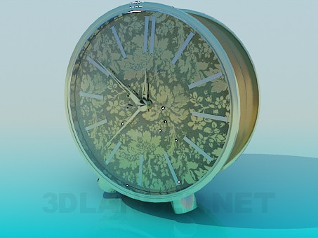 modelo 3D Relojes - escuchar