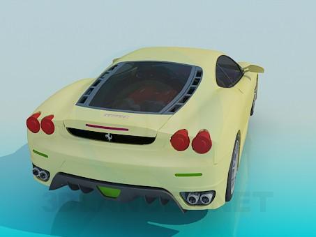 modelo 3D Ferrari F430 - escuchar