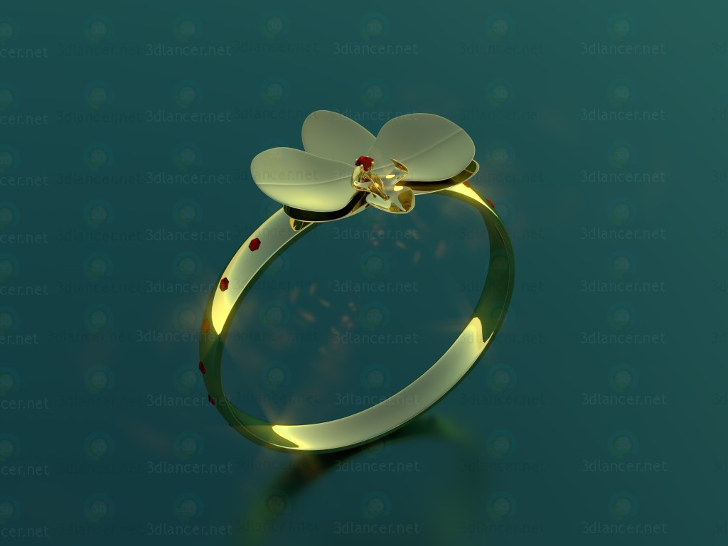 3d model Ring 10 - preview