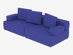 Double sofa modular (option 1)