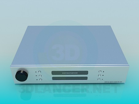 modelo 3D receptor - escuchar