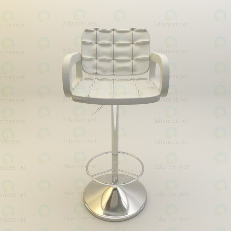 Bar stool for kitchen paid 3d model by psyromati preview