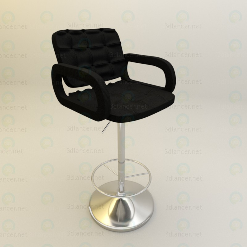 3d Bar stool for kitchen model buy - render