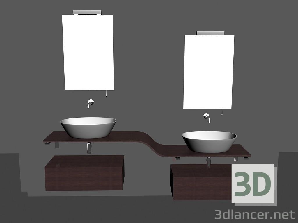 3d Model Modular System For Bathroom Song 15 Free 3d Models For 3d Editors Max 2012