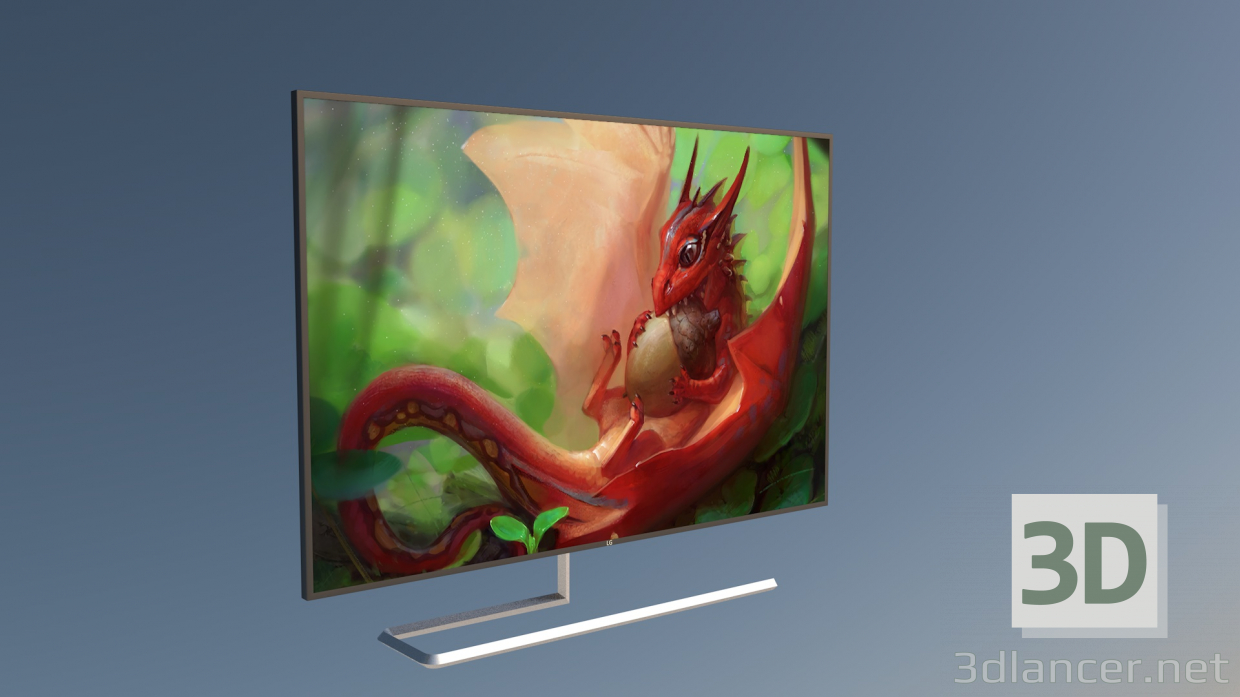 3d Display model buy - render