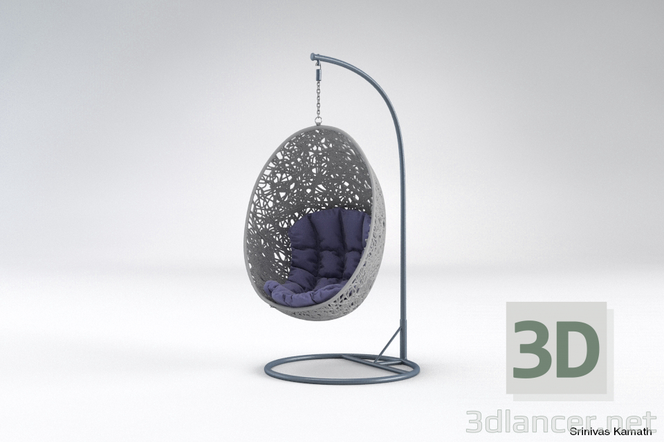 3d model Hanging Chair - preview