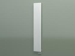 Radiador vertical RETTA (6 seções 1800 mm 60x30, branco mate)
