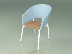 Comfort chair 022 (Metal Milk, Sky)