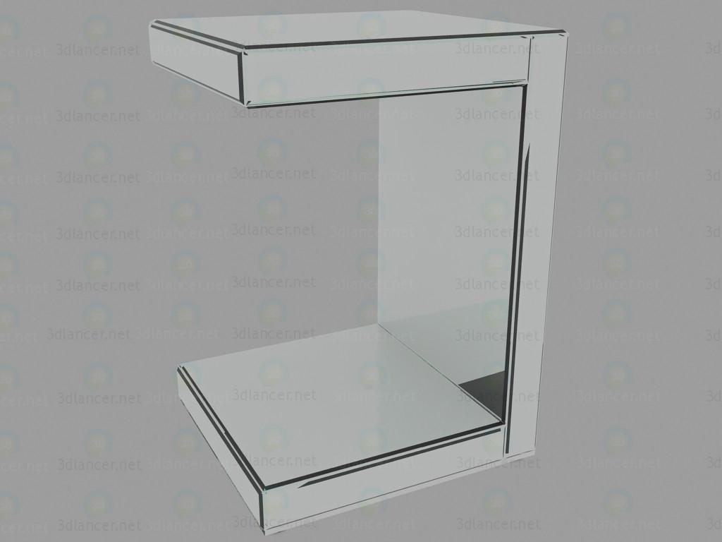 3d model Mesa de doble espejo - vista previa