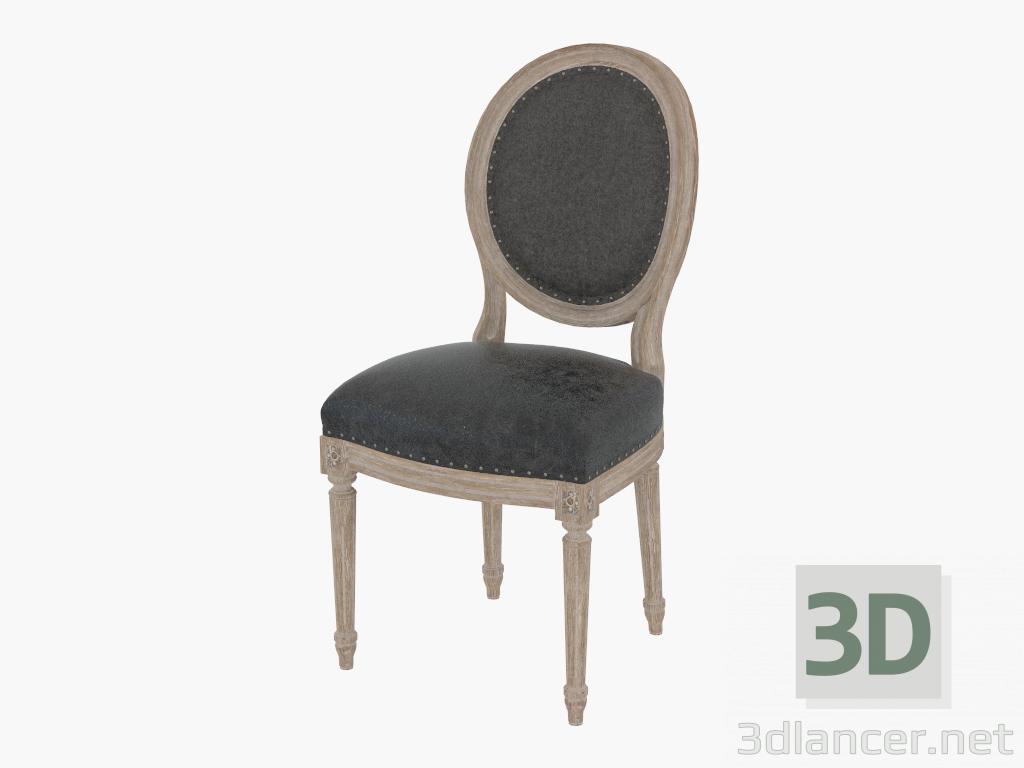Modelo 3d cena de la silla del franc s del louis pizarra for Cena en frances