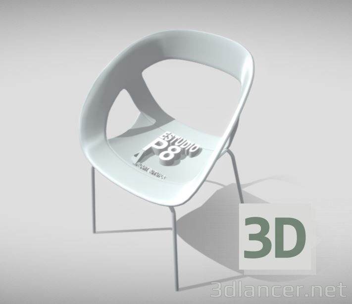 3d model CHAIR P8 - preview