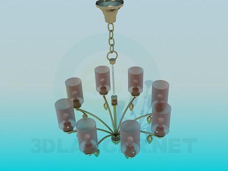 modelo 3D Lámpara para el salón - escuchar