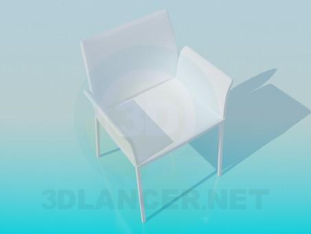 3d modeling Highchair model free download