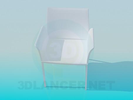 3d модель Стільчик – превью