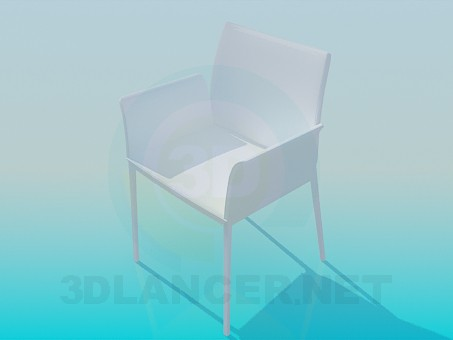 3d model Highchair - preview