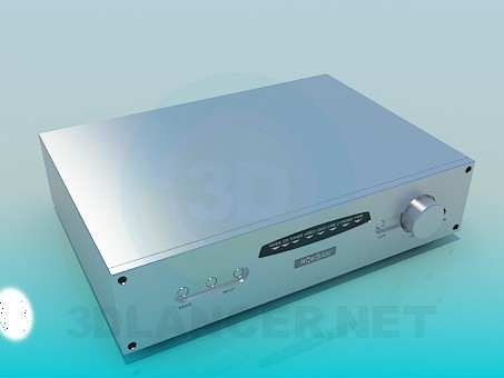 3d model Audio Receiver - preview