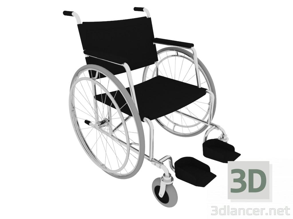 3 डी मॉडल व्हीलचेयर - पूर्वावलोकन