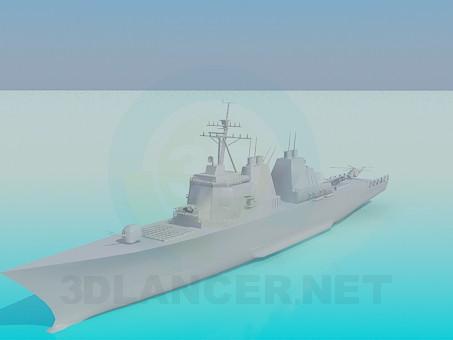modelo 3D Nave - escuchar